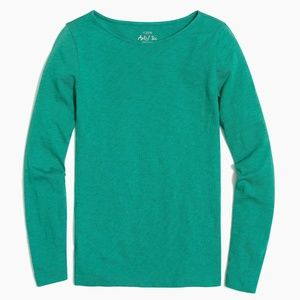 J.Crew Solid Painter T-shirt (Berkshire Green)
